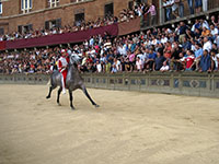 During Il Palio trial race