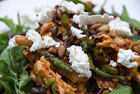 Chicken Salad with Asparagus and Sun-Dried Tomato Dressing - Lee ...